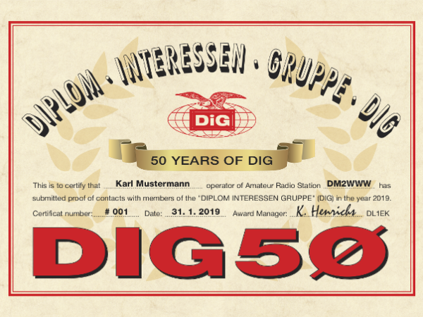 DIG50 - 50 Jahre DIG