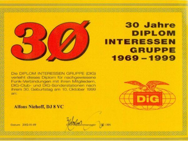 30 Jahre DIG