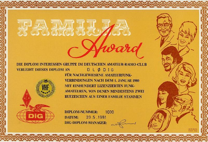 Familia-Award