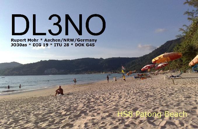 DL3NO QSL